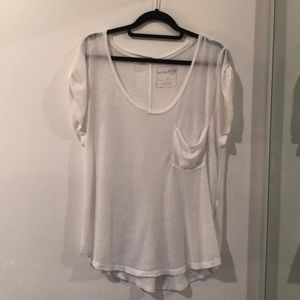 Free People - Burnout Tee - Size S